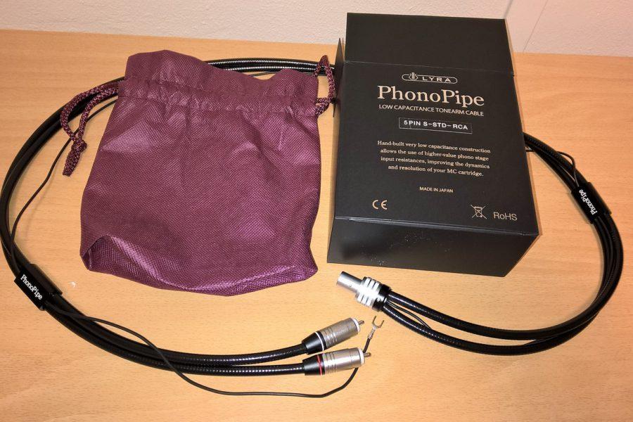 Il primo cavo Phono di Lyra: Il PhonoPipe