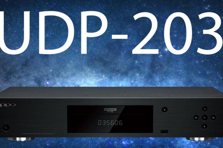 Sono arrivati i nuovi Oppo UDP-203 EU