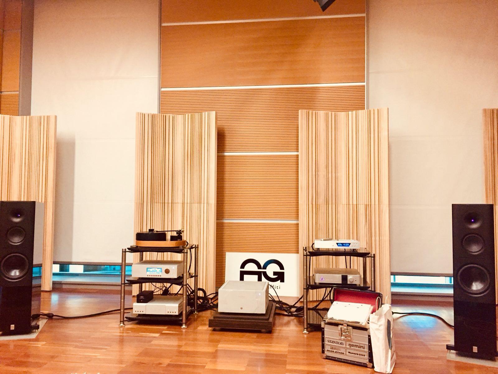 Rimini Sintonie 2017 – la nostra sala in allestimento …