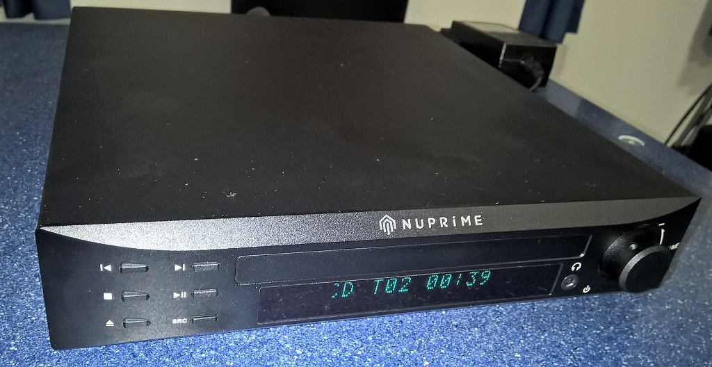 CDP9 – il primo cd player di Nuprime.