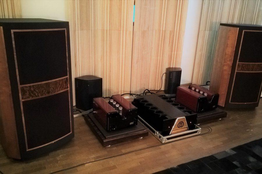 Nuovo allestimento in sala 1: Tannoy Kingdom Royal + MBL 9010 C