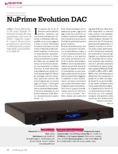 Nuprime – Evolution Dac