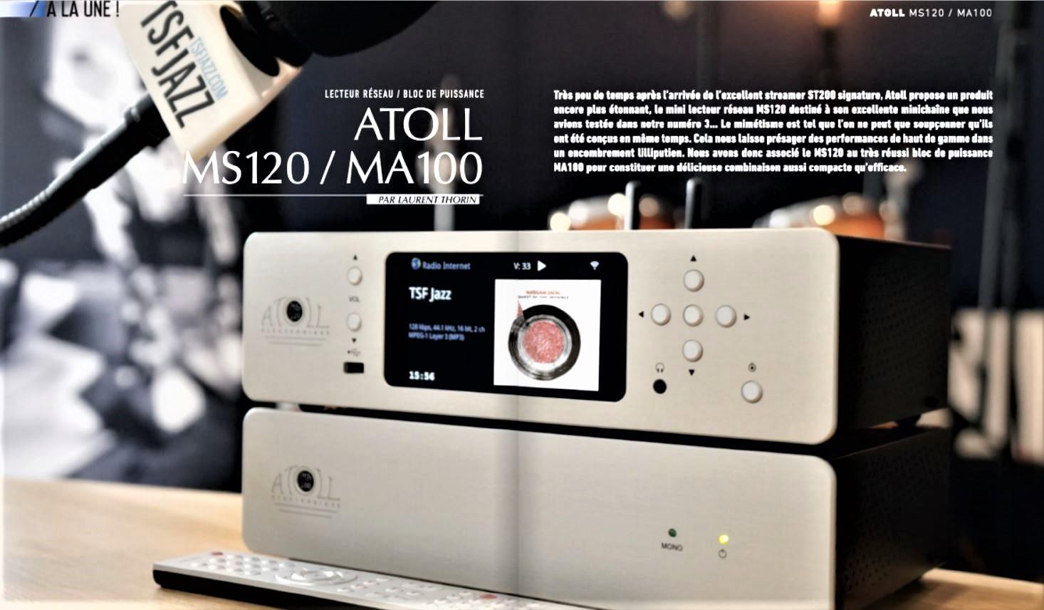 In prima pagina! Atoll MS120 – MA100