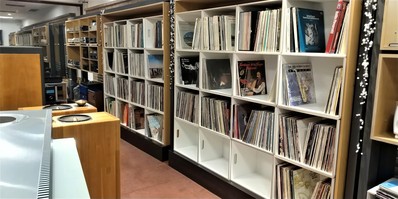 """Nuovo reparto """"Records Shop""""."""