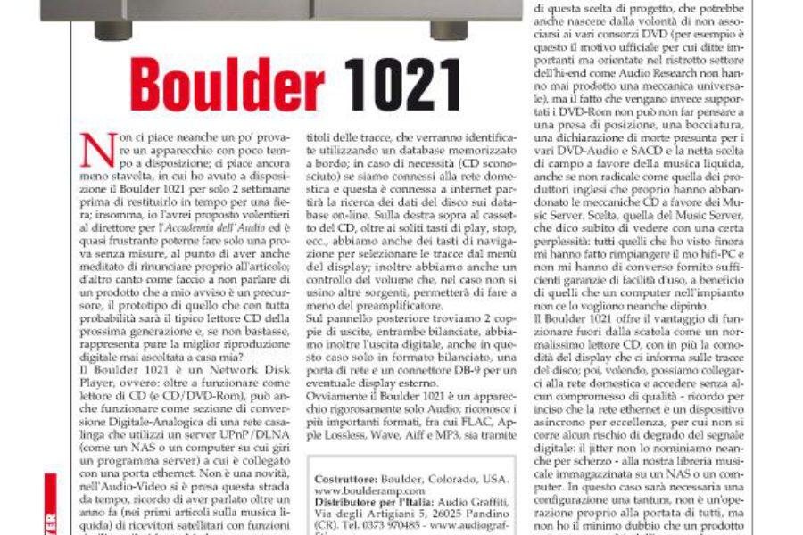 Audio Review – Boulder 1021