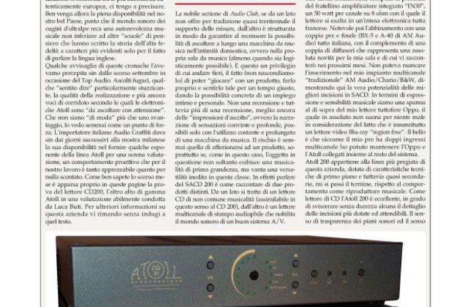 Audio Review – Atoll SACD 200