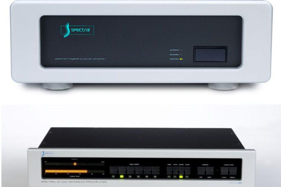 Spectral DMC30 SC e DMA240 con Harberth 40.2