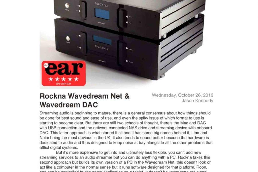 Rockna Wavedream Net e Dac