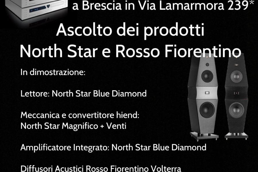 Ascolta North Star Design e Rosso Fiorentino presso lo Showroom Consound