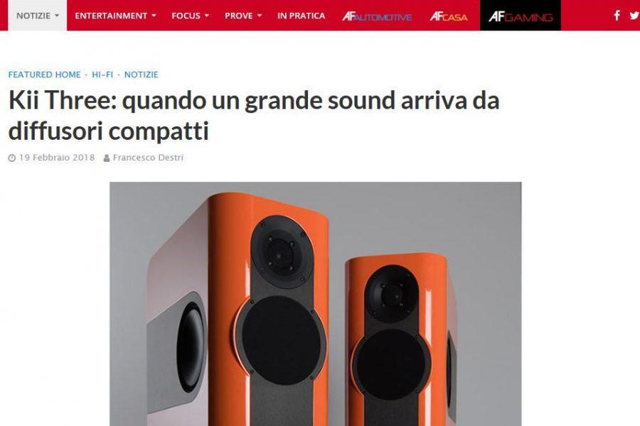 Kii Audio – Three