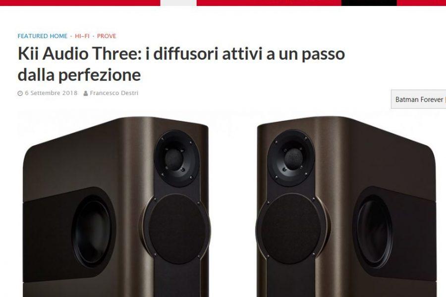 Kii Audio – Three – approfondimenti su AF Digitale
