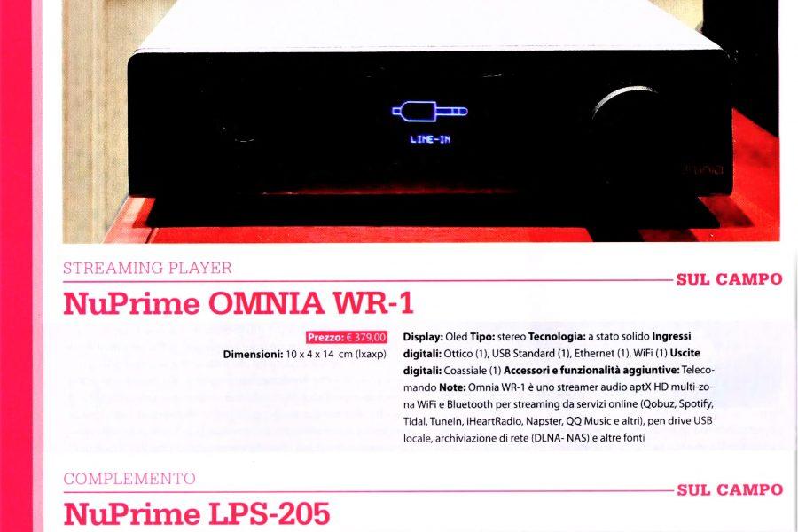 Nuprime Omnia WR1 – LPS205 – SW8
