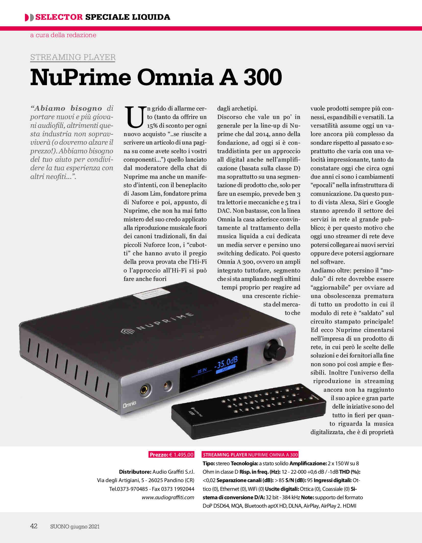 Nuprime Omnia A300