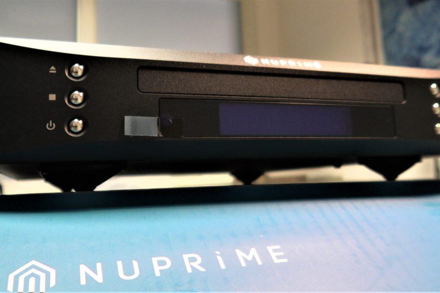 Back to the cd con la nuova meccanica Nuprime CDT9