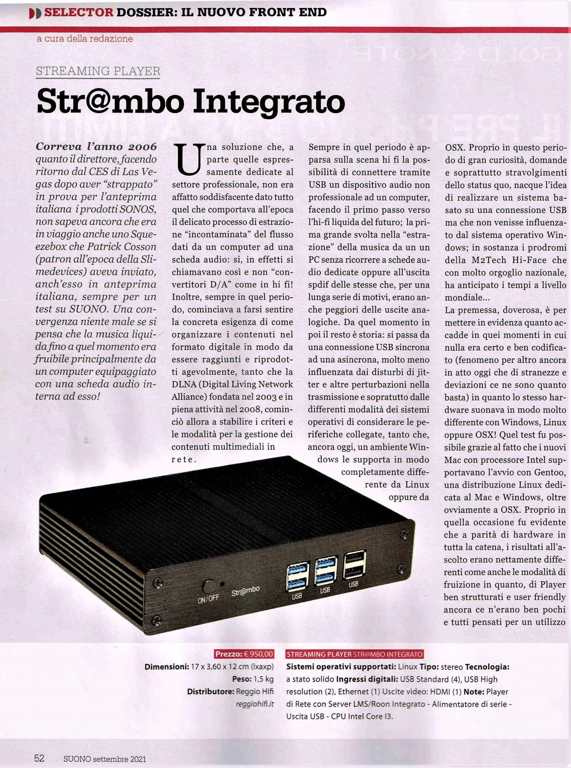 Str@mbo – streamer